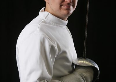 Fencing Portrait